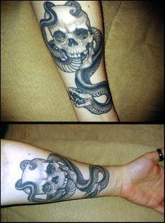 realistic dark mark tattoo - Google Search