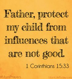 1 Corithians 15:33 ❤️ all we ask is to keep the negative nd bad ppl away from our kids the same way you've done for us.