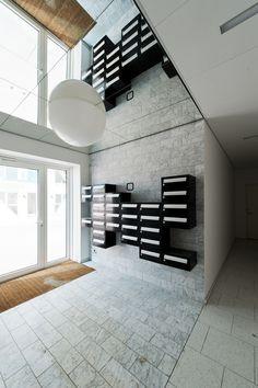 Интерьер, Современный, Другое, дания,жилой комплекс,плитка,подъезд,серый,