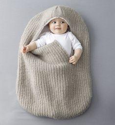 Modèle nid d'ange - Modèles tricot layette - Phildar