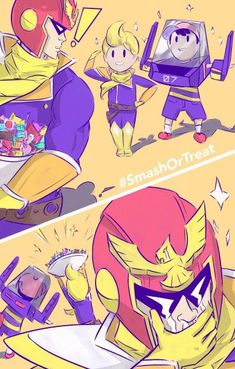 Earth-Zero - Smash or Treat - Lucas Ness and Captain Falcon. Earth-Zero - Smash or Treat - Lucas Ness and Captain Falcon. Super Smash Bros Brawl, Nintendo Super Smash Bros, Geeks, Super Smash Ultimate, Digimon, Nintendo Characters, Metroid, Fanart, Hilarious Memes