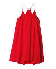 Silk Racerback Trapeze Dress - GRANA: Wardrobe essentials made from the world's best fabrics