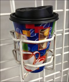 Cart Coffee Cup Holder or Shallow Quiver For Grid? Coffee Cup Holder, Coffee Cups, Cup Holders, Retail Signage, Quiver, Grid, Holsters, Shallow, Binder