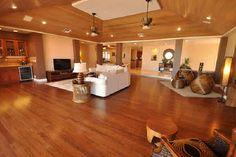 Keauhou Estates home finished in exotic hardwoods