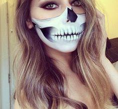 Makeup for Halloween.