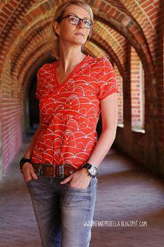 FrauLiese - der Sommer kann kommen Tricks, Fishing, Button Down Shirt, Men Casual, Plaid, Sewing, Fabric, Mens Tops, T Shirt