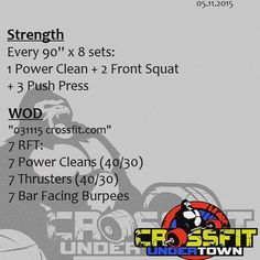 #wod #cftundertown #crossfit #workout #barbells #gymnasticswod #thebarbellwod #conditioning #xeniosusa #roguefitness #netintegratori #supportyourlocalbox