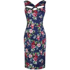 prettykittyfashion.co.uk products navy-floral-print-sexy-wiggle-pencil-dress?variant=16201443267