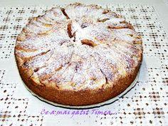 Tarta cu pere si budinca de vanilie