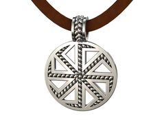 Kolovrat Kolyadnik (Ladinets) Slavic pendant amul by ovchinnikov_jewelry