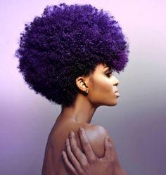 The #hair! Fierce! Tierra Benton Model NYC-ATL #afro by Naivasha Johnson