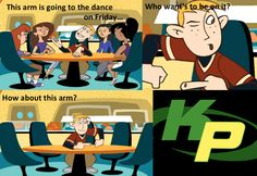 Kim Possible humor <3 This was my show as a girl!