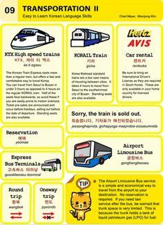 Learning Korean - Transportation II