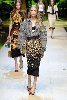 Dolce & Gabbana   Ready-to-Wear Spring 2017   Look 76