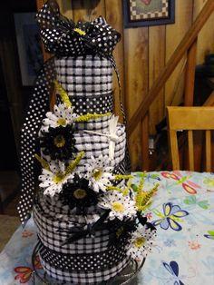 Kitchen towel cake!