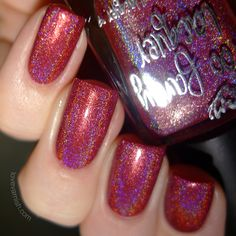 Just Look At The Flowers - from the It's Christmas Collection (swatched by Love Varnish)