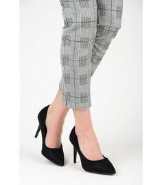 Čierne semišové lodičky B2-2B Pumps, Heels, Heeled Mules, Fashion, Heel, Moda, Fashion Styles, Pumps Heels, Pump Shoes