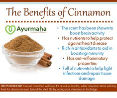 The Benefits Of Nature - Cinnamon Powder Benefits, Ceylon Cinnamon Benefits, Ceylon Cinnamon Powder, Brain Activities, Superfoods, Natural Health, Health Fitness, Healthy Recipes, Meals