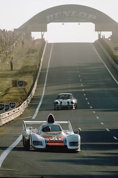 LeMans 24 hours 1976 Porsche 936 Jacky Ickx and Jurgen Barth winners.