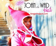 Serger Pepper - Joan the Wad Hat - FREE pattern title