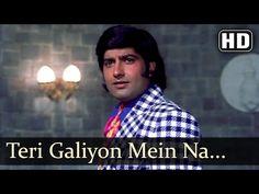 Teri Galiyon Mein Na Rakheinge - Neetu Singh - Anil Dhawan - Hawas - Mohammed Rafi Classic Songs - YouTube