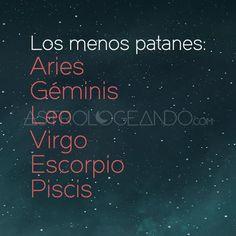 #Aries #Géminis #Leo #Virgo #Escorpio #Piscis #Astrología #Zodiaco #Astrologeando