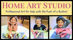Kids Art: Home Art Studio