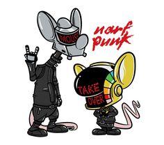 Narf Punk, hahaha!  Pinky and the Brain