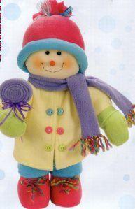 en tela navidad mueco de nieve muecos de navidad adornos navidad bebe moldes tablero detalles navideos