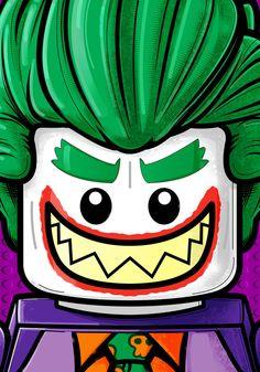 LEGO Joker - Terry Huddleston