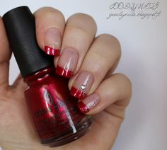 Goodly Nails: Punainen ranskis