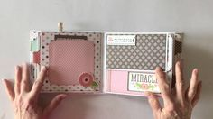 Hello everyone! Today Inhave a very special mini album to share with you. This project uses the older version of the Echo Park Bundle of Joy Girl Paper Colle...