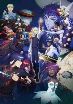 D.Gray-Man Hallow L'anime en simulcast VOSTFR et l'opening