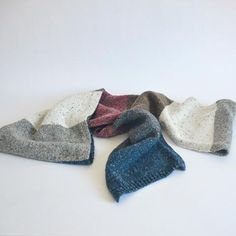 Rock Candy, Wool Scarf, Hand Warmers, Gender Neutral, Color Blocking, Merino Wool, Rust, Two By Two, Outdoors