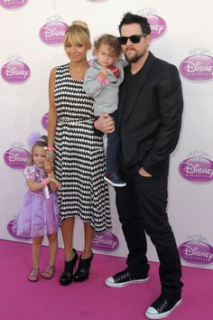 Nicole Richie And Joel Madden, Plus Harlow And Sparrow. One of my fave celebrity couples