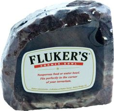 SIKANTISPETS: Flukers water dish for reptiles is one of the best on the market! More information here!