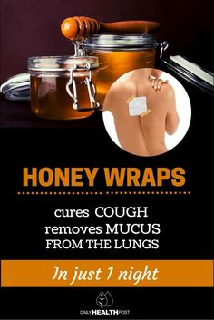 Interestingly, there is a relatively common ingredient that can not only help with a cough but has other medicinal properties as well. That ingredient is honey!  The use of honey wraps will not only help alleviate the severe coughing but also dislodge the mucus from the lungs. This treatment can be used for children as well as adults.   http://dailyhealthpost.com/honey-wraps-cures-cough-and-removes-mucus-from-the-lungs/