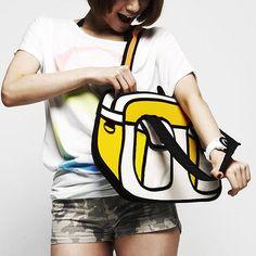 Bolsas da marca Jump from Paper, desenvolvidas pelas designers chinesas Chay Su e Rika Lin. #design
