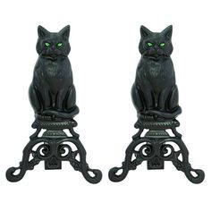 Uniflame Corporation Cat Andirons
