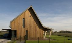 project: Woonhuis H | locatie: Noord-Brabant | opdrachtgever: particulier | tijdvak: 2012-2013 Wooden Houses, Shed, Outdoor Structures, Cabin, House Styles, Home Decor, Timber Homes, Wood Frame House, Lean To Shed