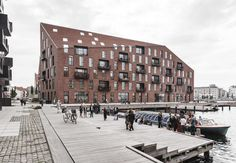 Krøyers Plads is the first Swan-labeled apartment building in the country and the area's residents have participated in the entire development process.