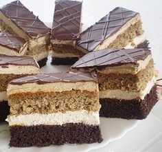 Hungarian Recipes, Vanilla Cake, Nutella, Tiramisu, Cheesecake, Food And Drink, Cooking Recipes, Favorite Recipes, Sweets