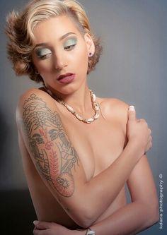 Model Adora #ink #tattoo #beauty #glamour