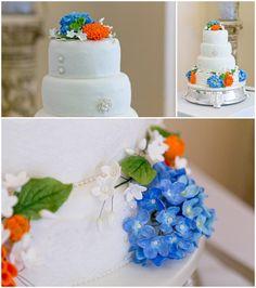 Colwick Hall Wedding cake