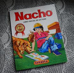 """Nacho is one of the most popular educational booklets for kids in Colombia. In the Spanish language only consonants and vowels put together make a distinctive sound, like """"Ma"""" for example. It not only teaches kids how to pronounce a consonant using different vowels, it also teaches them how to write it out. Famous frases to Spanish speakers like """"Mi mamá me mima"""" come from this booklet. I was sure one to learn from this booklet along with the help of my parents and teachers."""