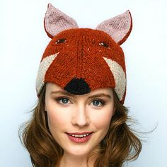 Fox - Animal Hats to Knit -  Book