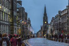 Hogmanay - Silvester in Edinburgh - Reisetipp   Royal Mile