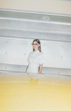 Marie Piovesan for Céline S/S 2012 campaign shot by Juergen Teller