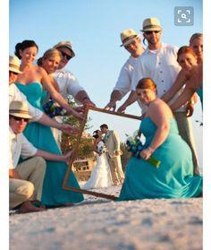 Ideias de foto para um casamento na praia