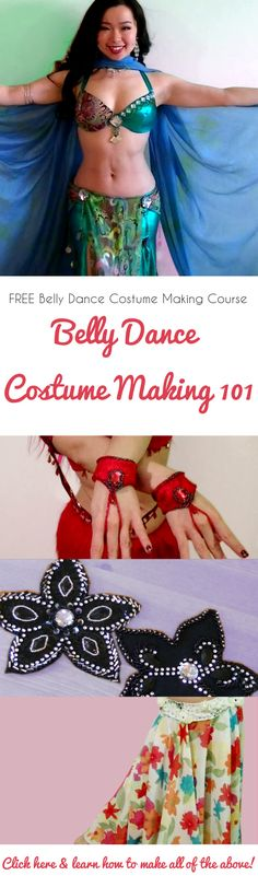 Free belly dance costume making course!